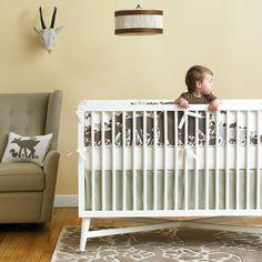 crib bedding, baby bedding, woodland tumbl, babi, cribs, bedding sets, crib set, color scheme, baby boy nurseries