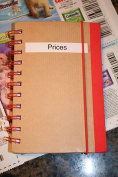 How to Create a Price Book to Track Grocery Prices