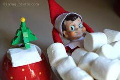 25 Elf On The Shelf Ideas {Free Posing Guide}