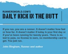 Who is a Runner?