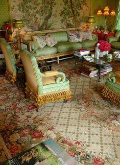 susan gutfreund, interior, table lamps, living rooms, rug, paris apartments, henri samuel, drawing rooms, live room