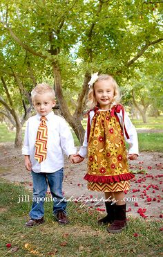 Brother and Sister Matching Outfits Boys Necktie by mellonmonkeys    Cute, Cute, Cute