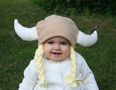 Baby viking hat!