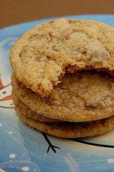 Toffee Walnut (Heath Bar) Cookies