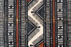 detail of tapa cloth, Fiji, early 20th century