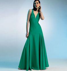V8814, Misses' Dress