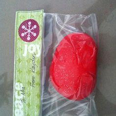 DIY Christmas playdough! Great alternative to candycane gift for Kindy friends