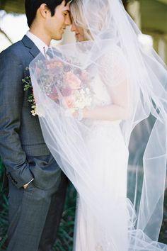 Classic Long Wedding Veil  #Nordstromweddings