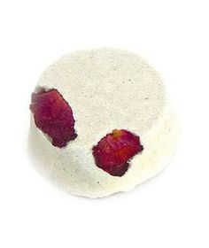 LUSH Dream Steam Tabs: For a spa-like experience at home, drop one of these pretty tabs (embellished with flower petals) into a bowl of freshly boiled water. Then drape a towel over your head and take a deep breath; as the tab fizzes it releases rose absolute and lavender oil to soothe irritated skin—and your senses.