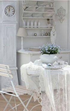#brocante #livingroom #white