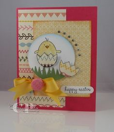 A feast for the eyes for easter time!  http://www.catherinepooler.com/2011/04/a-good-egg-stampin-up-you-crack-me-up/  Cheerful Easter Card using Stampin' Up products.
