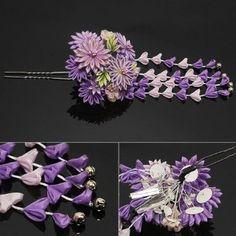 Kanzashi, japanese traditional accessory More
