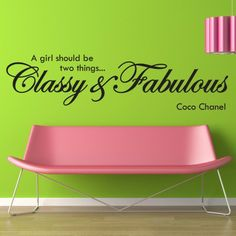 Great idea for the reception area in my salon..:) Much classier chair though.. ;)