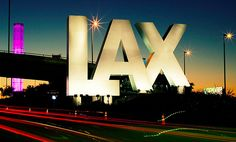 I love leaving and I love coming home.  I LOVE LAX