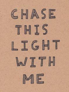 I shall.