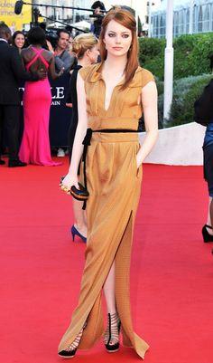 Emma Stone in Bronze.