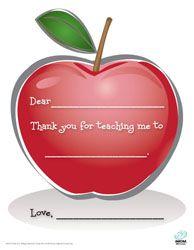 9 Printable Teacher Appreciation Cards
