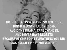 word of wisdom, wise women, life motto, happiness project, marilyn monroe quotes, celebrity quotes, norma jean, true stories, smart women