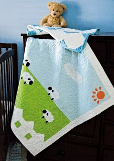 Baby Quilt Queen - Ruling the Realm of Baby Quilt Patterns: Free (and adorable!) sheep baby quilt pattern