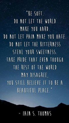 I've pinned this before but I can't stress enough how important it is to be kind and soft, even to people you think are not worth it, because they probably need your kindness the most. It's not being weak. It actually takes more strength to stay kind hearted and love everyone for their differences and despite their flaws.