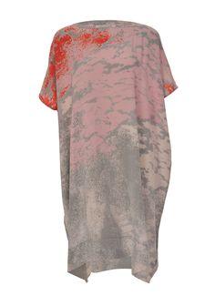 DVF printed kaftan dress