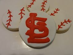 St. Louis Cardinal cookie
