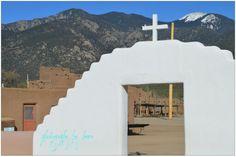 Thru the doorway, Taos Nm