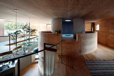UID architects: pit house in okayama, japan