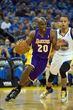 Los Angeles Lakers Jodie Meeks,  Golden State Warriors Stephen Curry