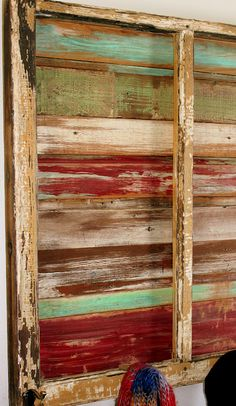 scrap wood and window project