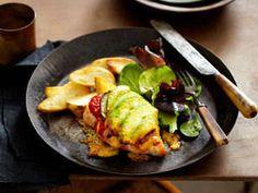 Chicken, Eggplant & Avocado Parmigiana