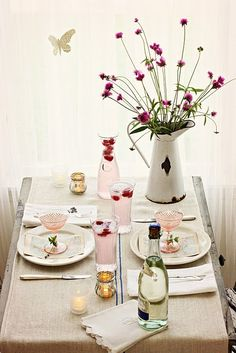 #tablesetting for two