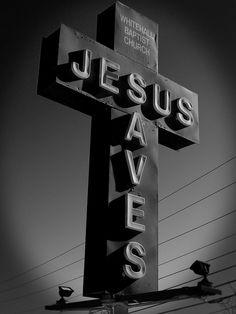 Whitehall Baptist Church sign, Athens, Georgia
