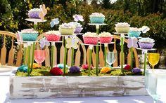 Alice In Wonderland Tea Party Cupcakes