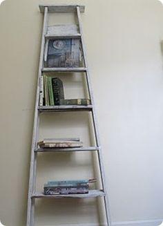 Re-purposed ladder