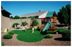 Back Yard Play Areas