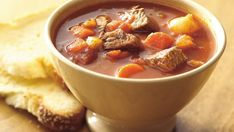 Grab a skillet and make a super easy beef stew. All you need is six ingredients.