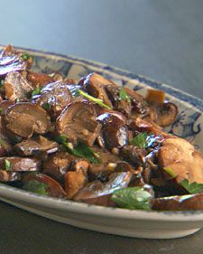 Sauteed Mushrooms.  Lucinda
