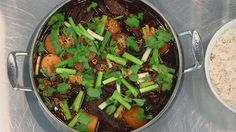 Red Braised Beef and Daikon