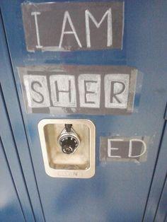 locker decorations, school fun