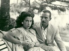 My grandparents, summer of 1948, about a year before they got married. Laredo, Spain.