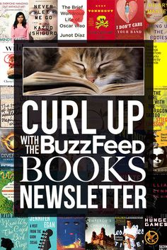 Love books more than anything? Then the BuzzFeed Books newsletter is for you!