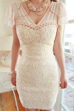 Like most of this dress, classy wedding reception dress