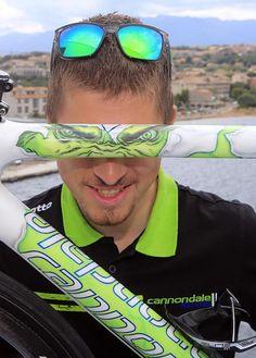 "Peter Sagan's ""The Hulk"" Cannondale SuperSix EVO, Tour De France - 2013"