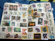 stamp page- great idea:-)