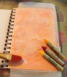 Gesso and Stencils