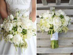 crisp white bouquet