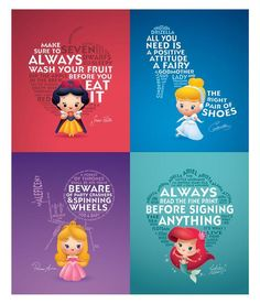 Life lessons from Disney ...