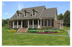 country houses, garages, hous plan, bathrooms, floor plans, dream hous, bedrooms, plan 8113837, house plans
