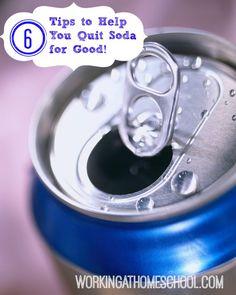 6 Tips to help quit soda. THM friendly sodas